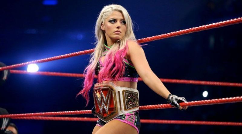 Who will join Alexa Bliss in the final four?
