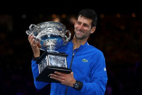 3rd Grand Slam on a trot for Novak Djokovic