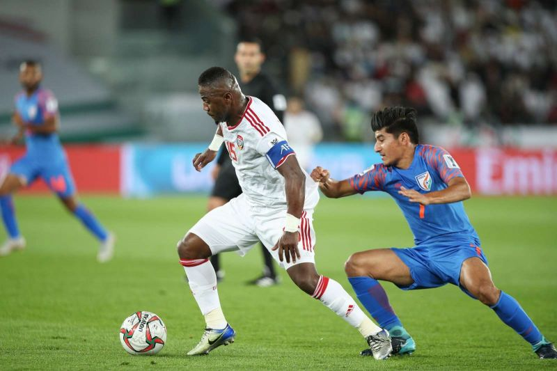 Anirudh Thapa was a bright spark for India at the Asian Cup