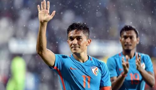 Veteran Indian player Sunil Chhetri also features on this list