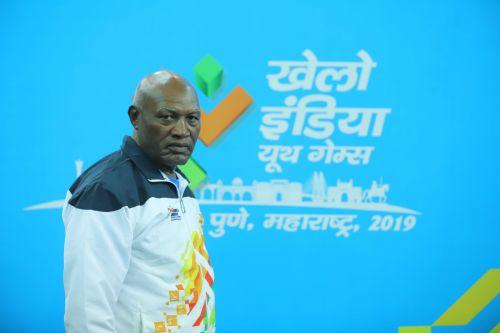 Cuban Romain Romero Drake, the coach of Madhya Pradesh boxing team