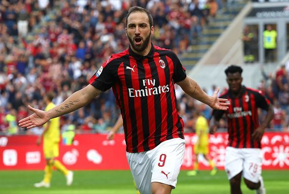 Higuain has joined Chelsea on loan from Juventus
