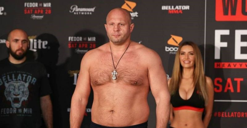 Fedor Emelianenko presently competes in Bellator MMA and Rizin FF
