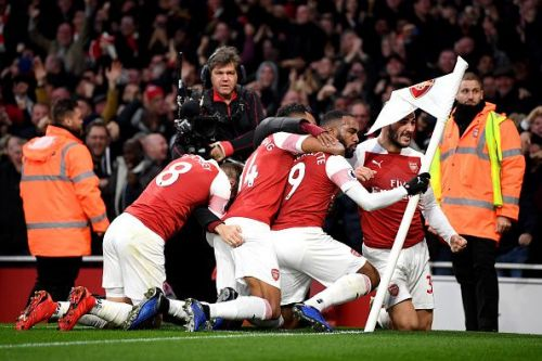 Arsenal has scored goals for fun this term