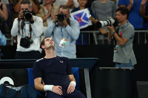 Murray takes a moment to ponder after his first round loss