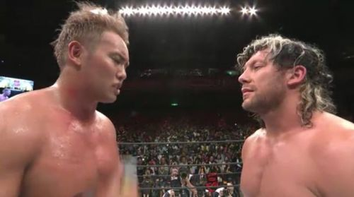 Omega and Okada made history once again by sharing a highly prestigious award in Japan