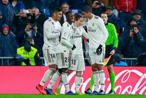 Real Madrid had revenge against their Andalusian opponents