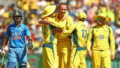 Australia won the series by 4-1 the last time when India played an ODI series Down Under
