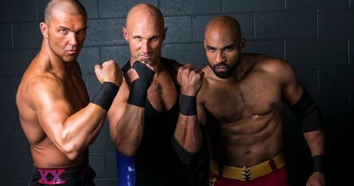 The talented trio just finished up with ROH.