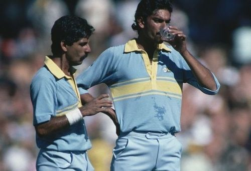 At Perth, Srikkanth came good with the bat and his opening partner Shastri with the ball