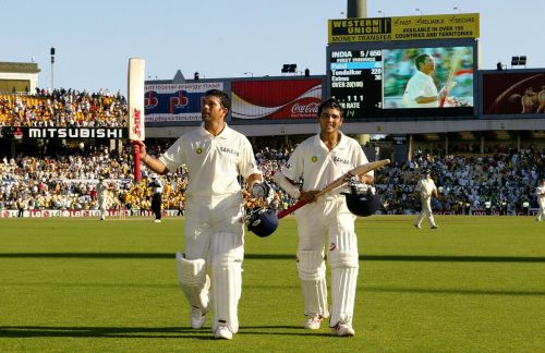 Sachin played on the legendary knocks on Australian soil in 2003-04 series at SCG