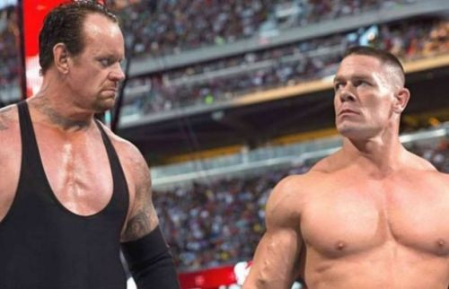 John Cena versus The Undertaker part two. Who wins?
