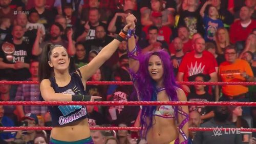 The crowd has been behind Sasha Banks for a long time now