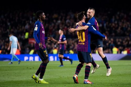 FC Barcelona v RC Celta de Vigo - La Liga