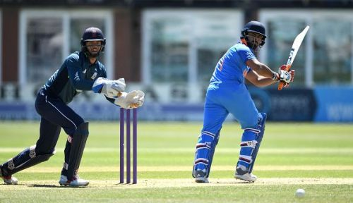 Rishab Pant averages below 30 in LIST A cricket
