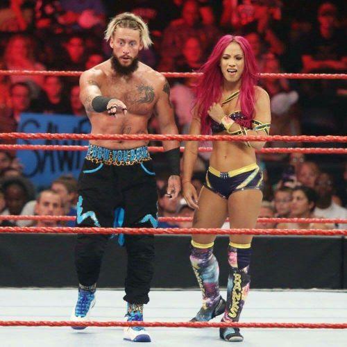 Sasha Banks and Enzo Amore had lost that match