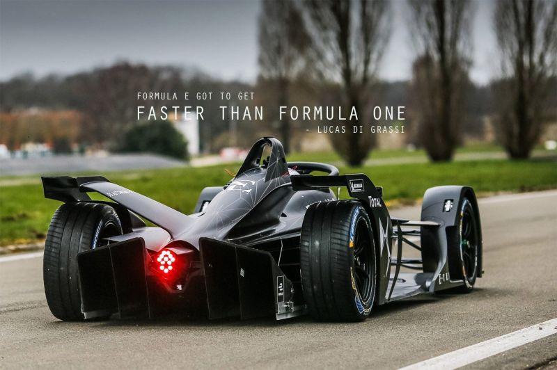 formula e should aim to be quicker than f1 cars lucas di grassi. Black Bedroom Furniture Sets. Home Design Ideas