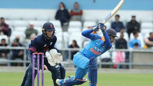 Ishan Kishan was the man of the match in the last ODI for his unbeaten 57