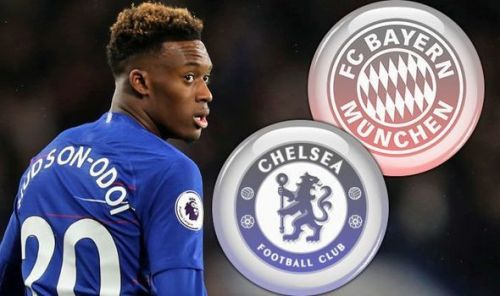 Chelsea and Bayern and embroiled in a transfer battle for Hudson-Odoi
