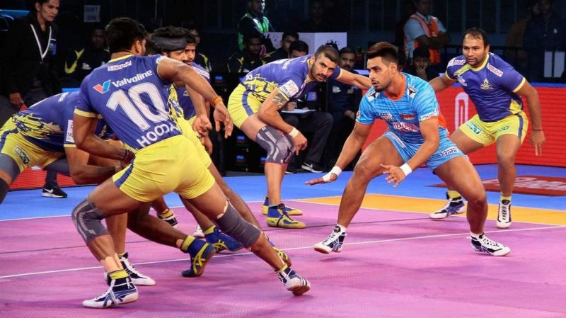 Maninder Singh did well as the primary raider for Bengal Warriors