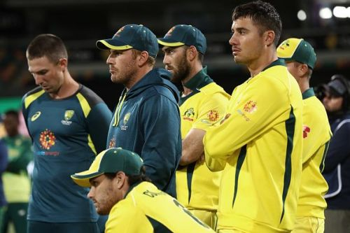 Aaron Finch will lead the side in the three-match series