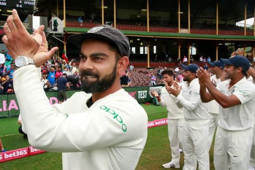 There have been only 4 Indian batsmen who have scored 2 hundreds in the same test, and Virat Kohli is one of them.