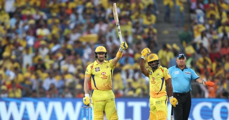 The pair of Shane Watson and Ambati Rayudu was the key factor in CSK