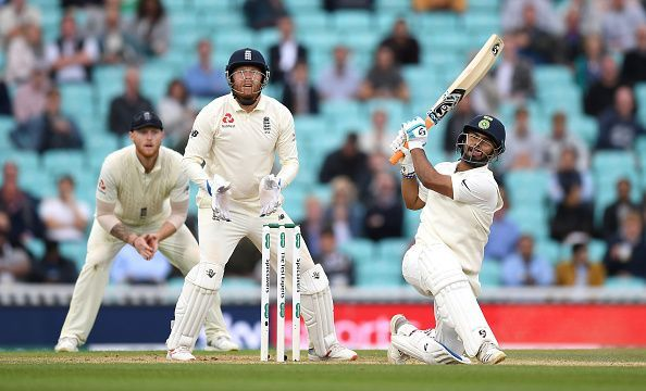 His first test score began with a six