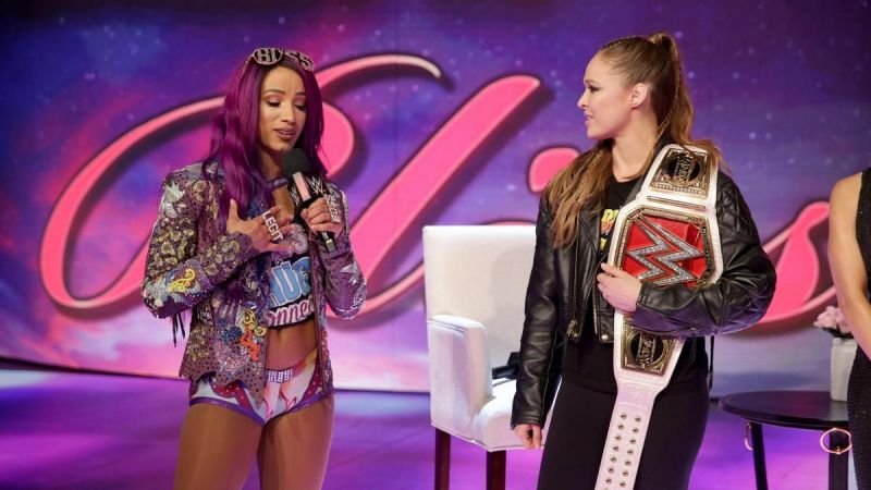 The Boss would love to face Rousey for the Raw Women's Championship because she'll show her how to lose with dignity and class.