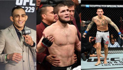 Who will challenge Khabib Nurmagomedov for his UFC Lightweight Title next -- Poirier or Ferguson?