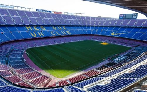 Camp Nou, Barca's magnificent home ground