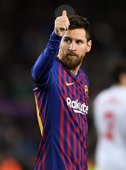 Lionel Messi will return to the starting lineup