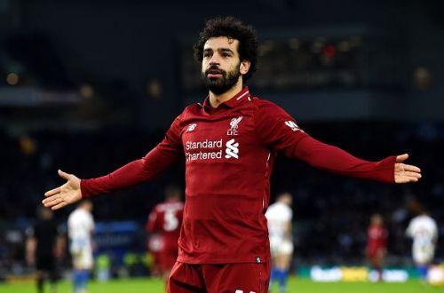 Mo Salah scored his 14th league goal of the season