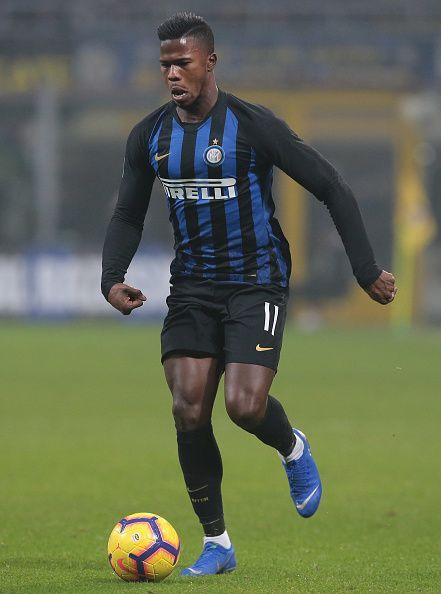 Keita Balde is unlikely to feature against his old club
