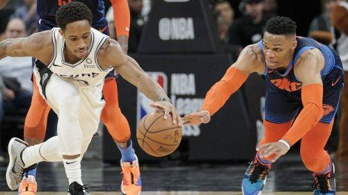 Spurs lead the three-game season series 1-0.