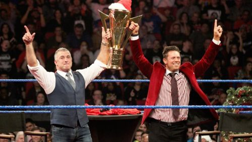 It's a cute name, but are the Miz and Shane McMahon really the best tag team in the world?