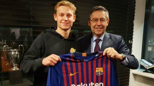 Latest Barcelona signing Frenkie de Jong