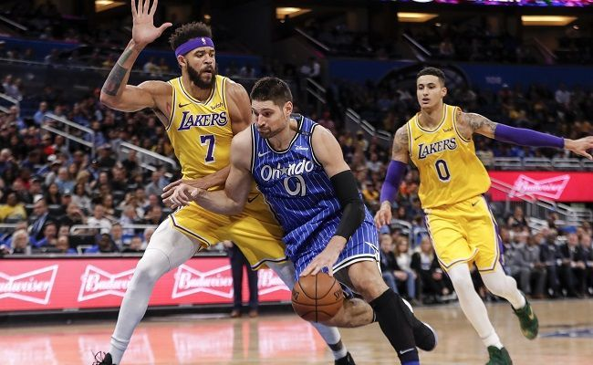 Image result for vucevic lakers
