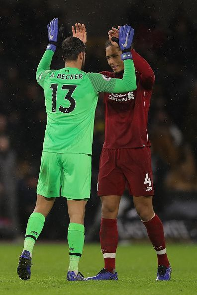 Van Dijk and Alisson Becker have been the two most expensive signings for Liverpool