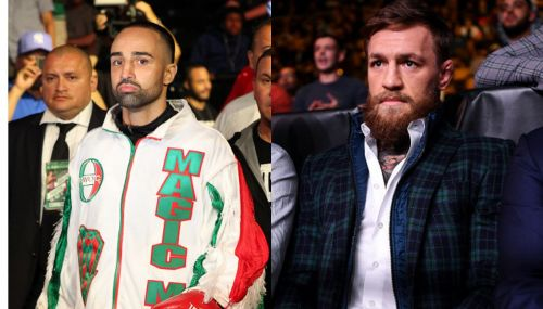 Paulie Malignaggi clearly does not think much of the former UFC Champion Conor McGregor