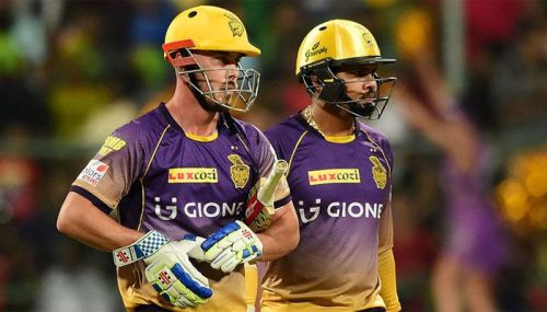 Sunil Narine and Chris Lynn