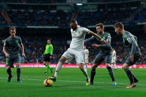 Sociedad players were determined to beat Madrid at their own home and did so in superb fashion.