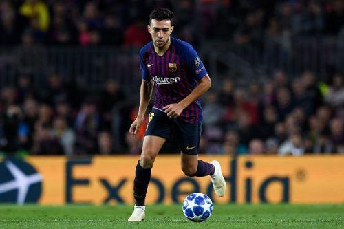 Barcelona announced Munir's departure on Twitter
