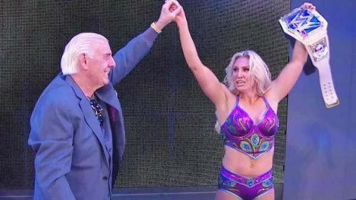 Flair says it's her destiny to headline WrestleMania