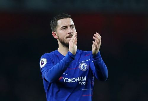 Hazard has been vocal in his aspirations to move to Real Madrid one day
