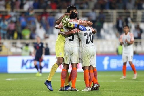 India come off a 4-1 win over Thailand in their Asian Cup opener (Image: AIFF Media)