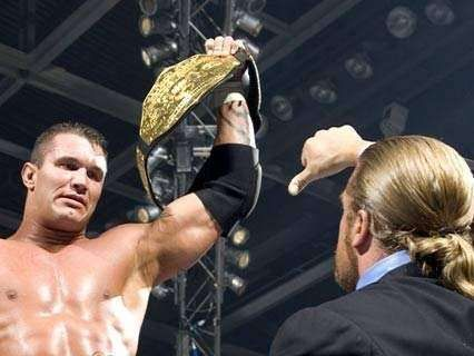 Triple H betrayed Randy Orton on the RAW after SummerSlam '04