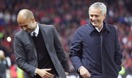 Guardiola and Mourinho have been rivals for a long time now