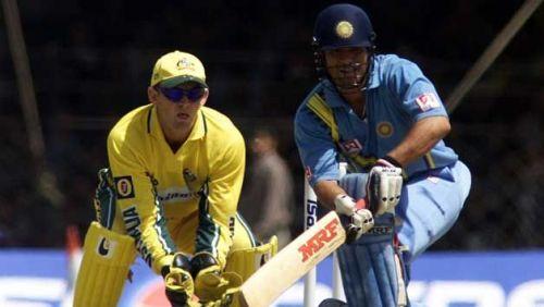 Master Batsman Tendulkar against a top class Aussie team