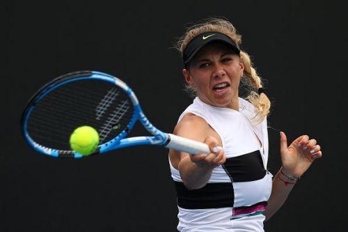 2019 Australian Open - Day 4 - Amanda Anisimova from the USA